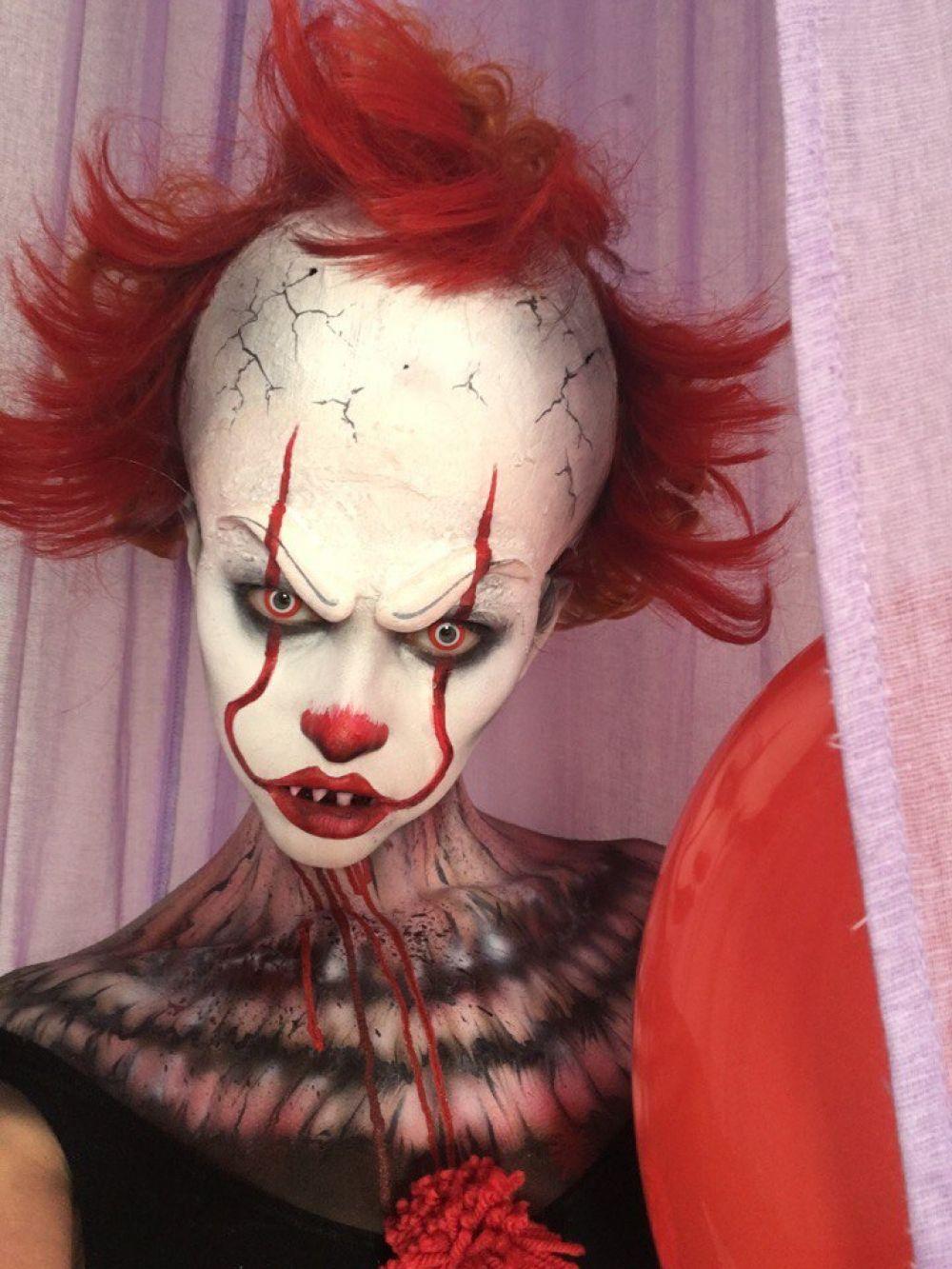 Самый актуальный образ - клоун из фильма «Оно».