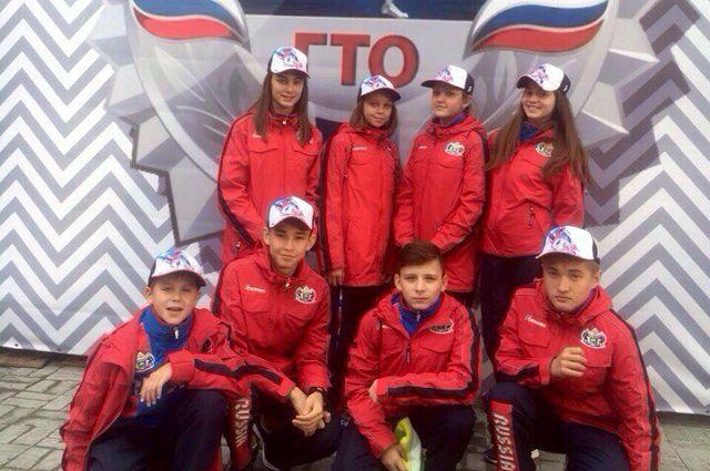Тюменцы заняли 1 место в эстафете ГТО на фестивале в «Артеке»