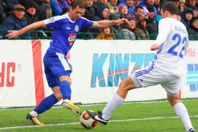 Курский «Авангард» в 3-й раз в сегодняшнем сезоне одержал победу у«Тамбова»