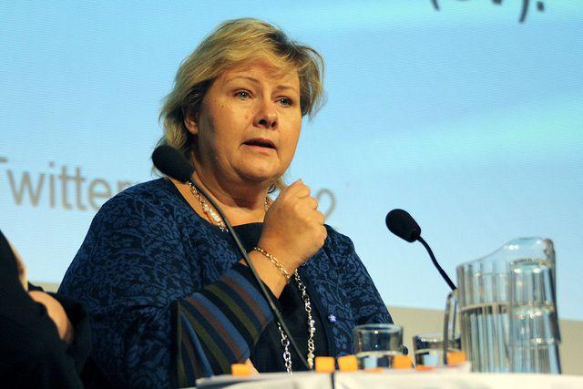 Премьер Норвегии выразила сожаления всвязи скрушением Ми-8