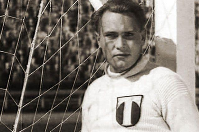 Григорий Плужник, «Вратарь», 1936 г.
