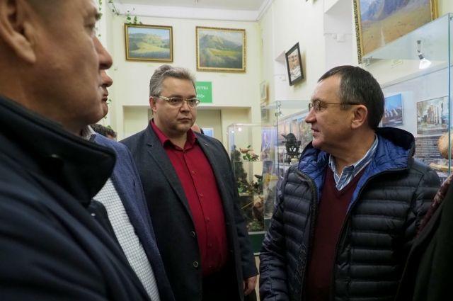 1-ый зампредседатель Совета Федерации прибыл вКисловодск