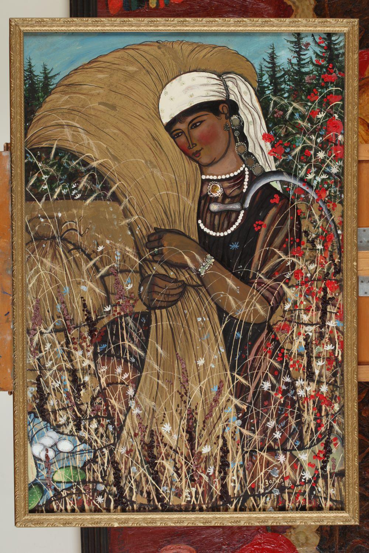 Ильдар Зарипов, «Золотой колос». Произведение современных татарских художников.