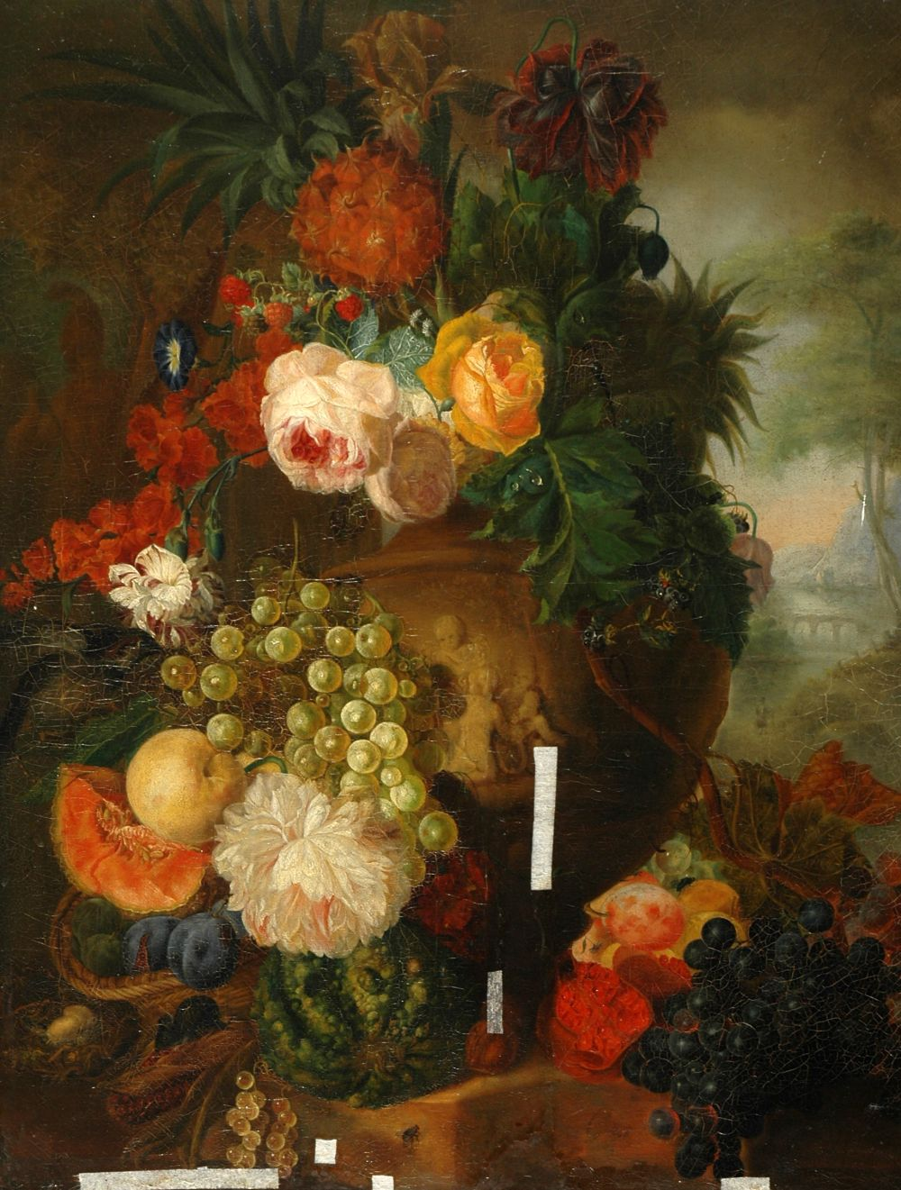 Ян ван Хёйсум, «Цветы и фрукты». Этого нидерландского художника назыавают «Цветочным Рафаэлем.