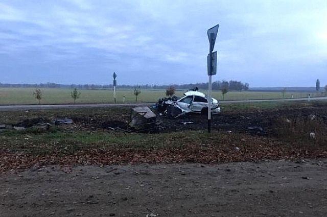 Тройная авария случилась из-за оторвавшегося колеса натрассе под Краснодаром