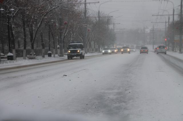 Постоянный снежный покров установится в Кузбассе в конце недели.