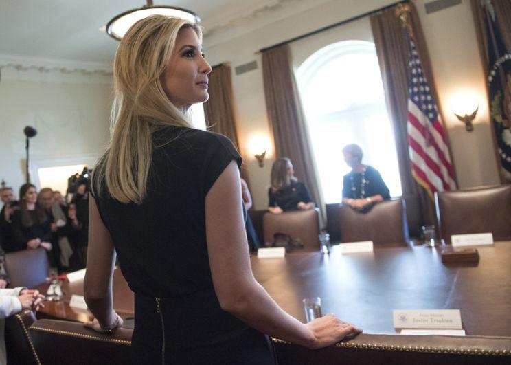 С конца марта 2017 года Иванка занимает пост ассистента президента США Дональда Трампа на неоплачиваемой основе.