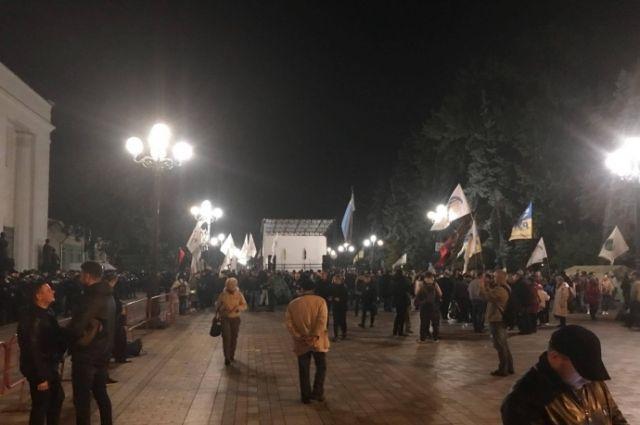 Штаб активистов под Радой пригрозил бойкотом всего бизнеса Порошенко
