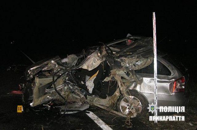 НаПрикарпатье случилось ужасное ДТП: погибли три человека