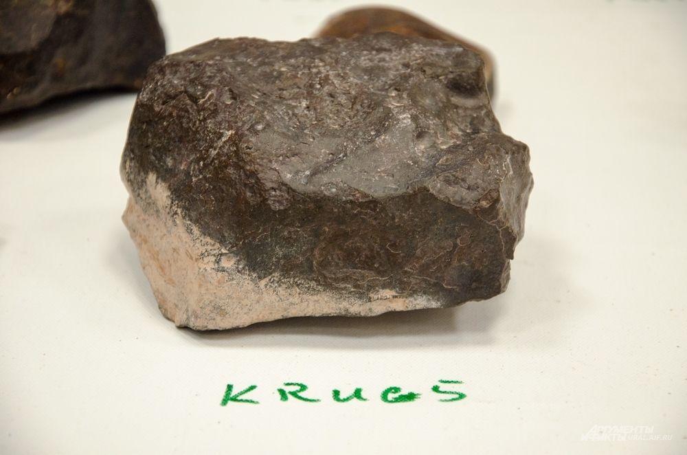 Среди находок есть метеориты довольно свежего падения.