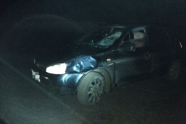 ВБашкирии женщина погибла под колесами авто «Лада Калина» и«Лада Гранта»