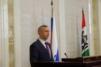 ВРИО губернатора НСО рассказал о распределении бюджета на 2018-2020 годы.