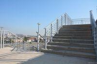 Лестница в Нагорный парк Барнаула