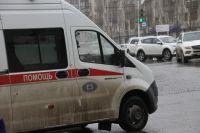 На Луначарского сбили женщину, у нее открытая черепно-мозговая травма