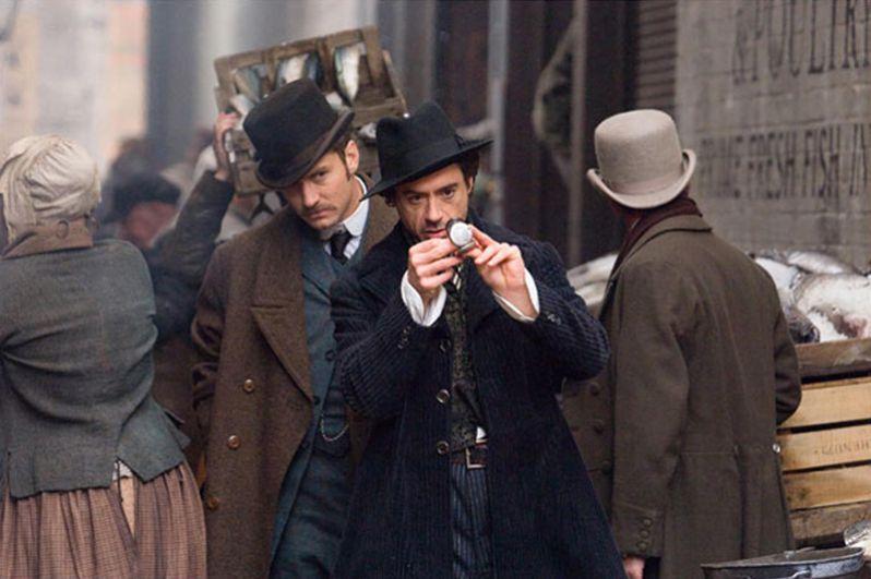 Роберт Дауни-младший («Шерлок Холмс», 2009).