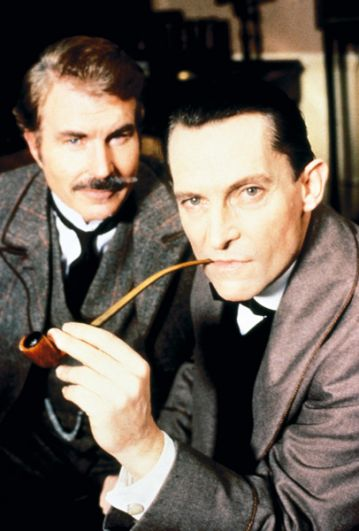 Джереми Бретт («Приключения Шерлока Холмса», 1984-1985).