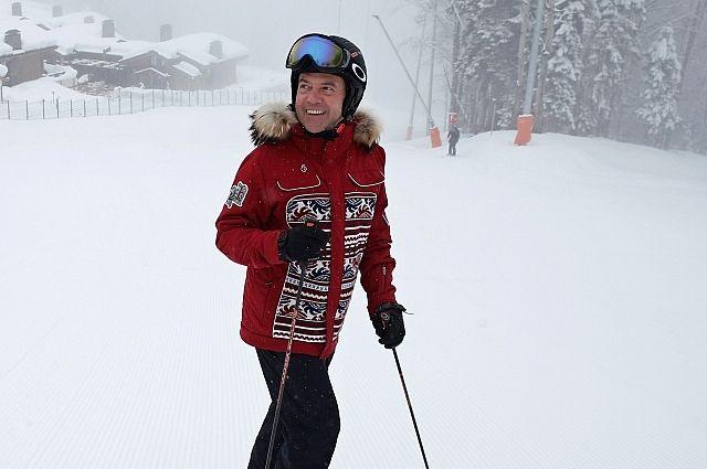 Медведев рассказал, какими видами спорта он занимается