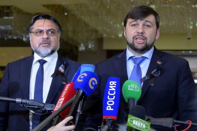 В ДНР и ЛНР заявили, что без их согласия миротворцы ООН не войдут в Донбасс