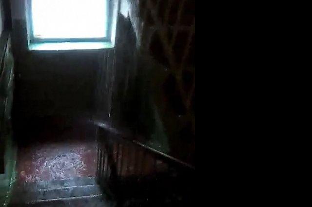 ВБрянске после ремонта крыши затопило пятиэтажку