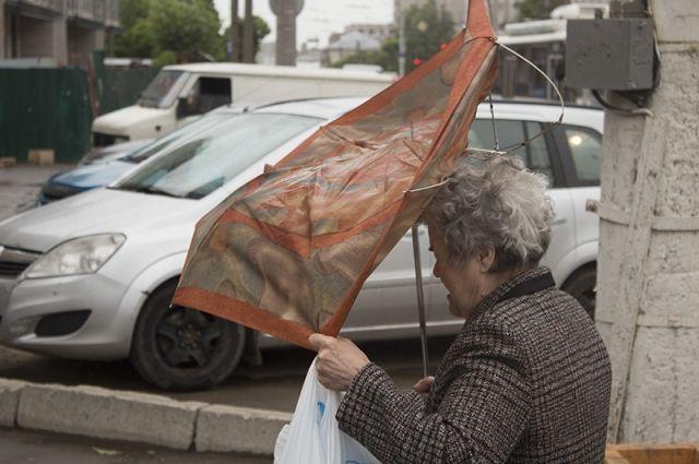 В столице  объявлен «жёлтый» уровень погодной опасности