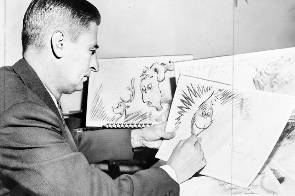 8 место. Самый продаваемый детский писатель в Америке Теодор Гейзель или доктор Сьюз скончался в 1991 году. Доход от продажи его книг в прошлом году составил 16 миллионов долларов.
