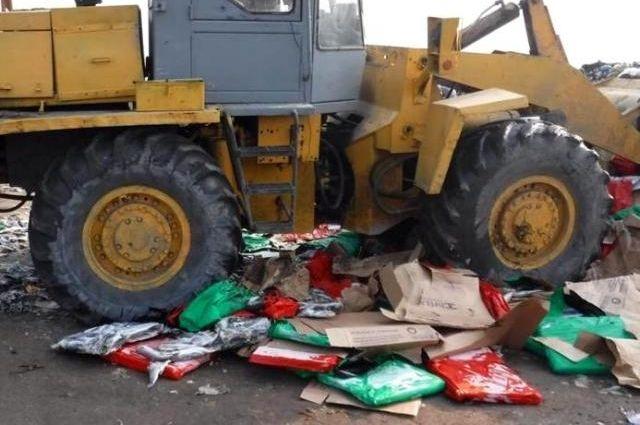 Неменее 21 тонны санкционной рыбы уничтожено вНовошахтинске