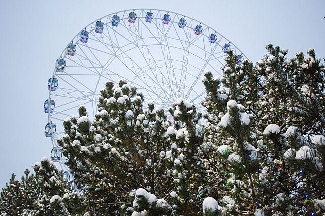 Монтаж колеса обозрения в Иркутске начнется в ноябре.