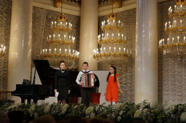 Талантливым школьникам все дороги открыты. Даже в Дом Союзов в Москве.