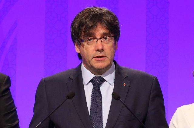 Пучдемон назвал условия возвращения вКаталонию