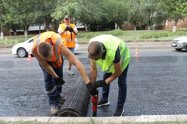 В Оренбуржье закончился сезон ремонта дорог.