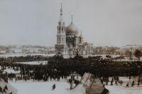 Омичи увидят картины, посвящённые истории русской Революции.