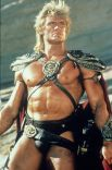 Первую главную роль Лундгрен получил в 1987 году в фантастическом боевике «Властелины вселенной» по мотивам комикса и мультфильма — «Хи-Мен и властелины вселенной».