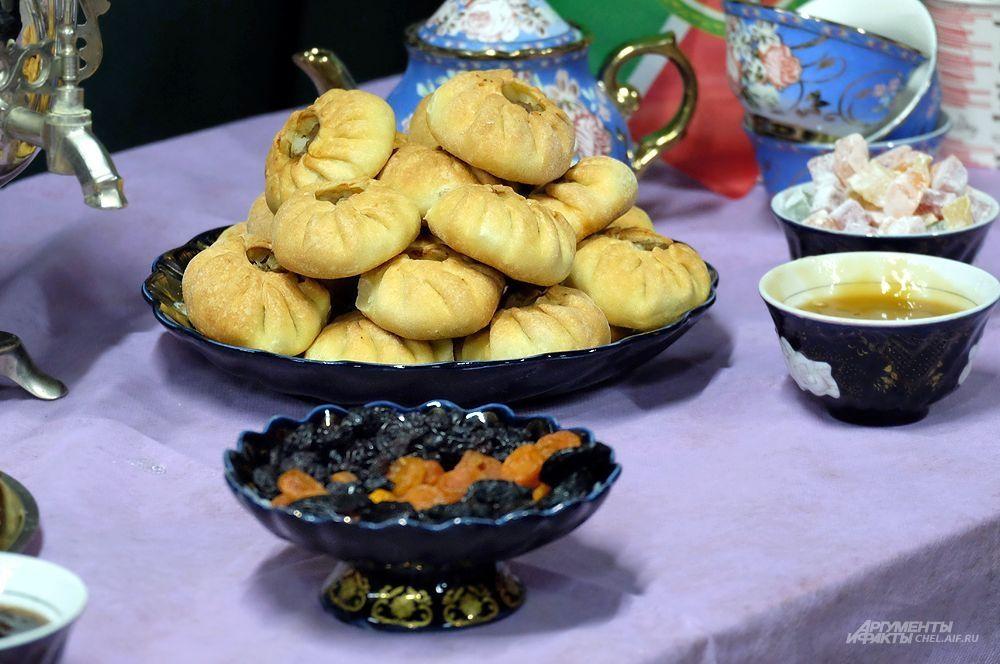Традиционные блюда татарской кухни.