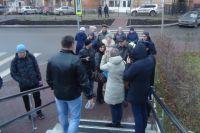 31 октября в 14.30 у здания Ленинского суда в Перми собралась небольшая группа людей.