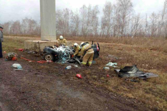 ВКлявлинском районе погибли шофёр ипассажир «Приоры»— Улетел вкювет