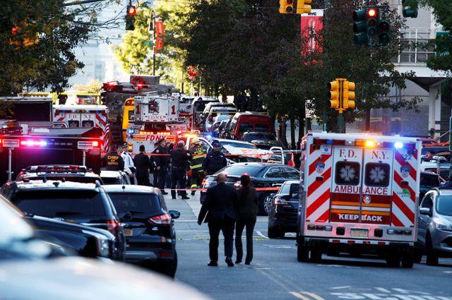 ИГ* взяло насебя ответственность затеракт вНью-Йорке