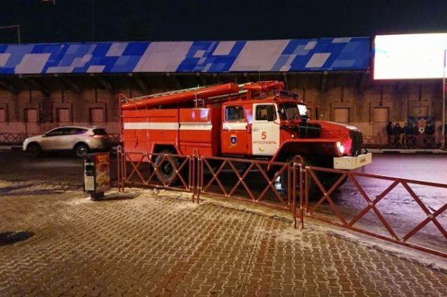 ВЯрославле вкрупном коммерческом центре произошел пожар