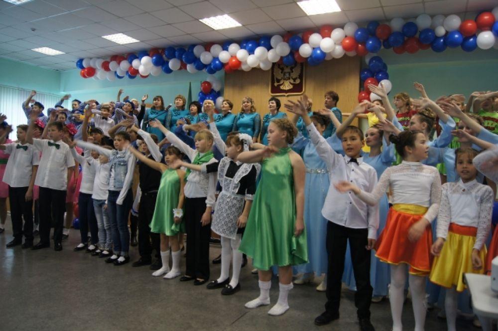Участие в фестивале-конкурсе приняли 102 воспитанника.