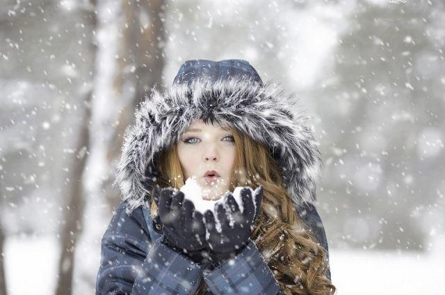В Омске наступила настоящая зима.