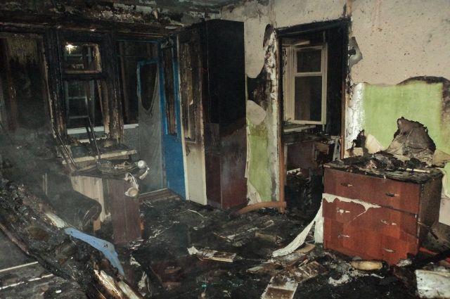 28 человек спасли спожара вказанской пятиэтажке