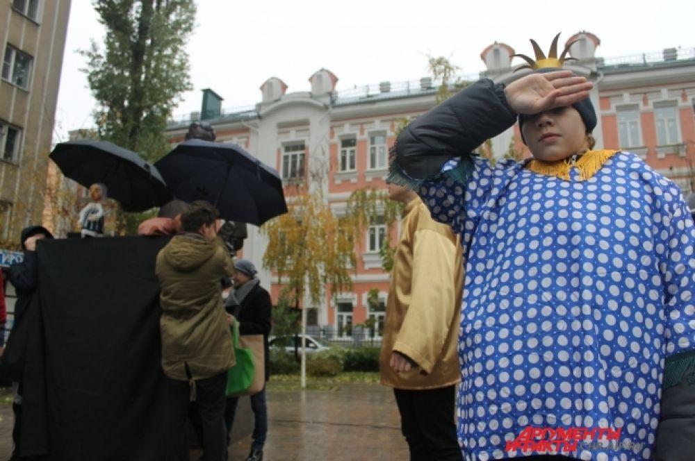 МАРШАКция проходит в Воронеже в третий раз.