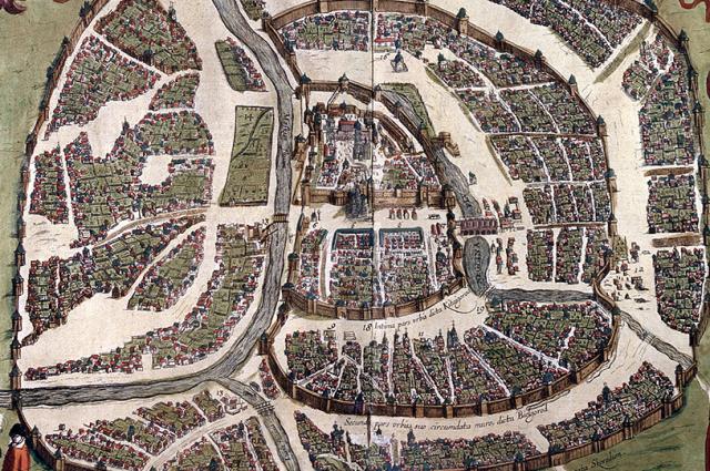 Польская карта Москвы (1612 г.)