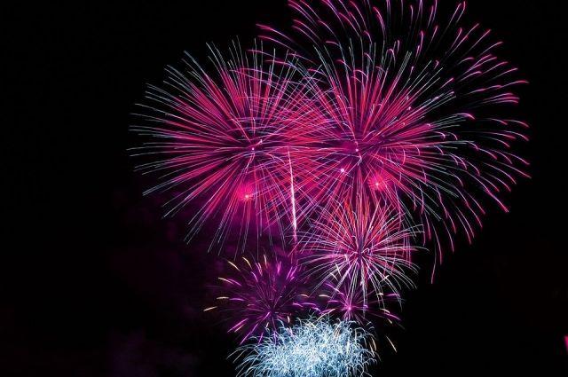 Фейерверк можно будет увидеть на праздничной программе в центре города.