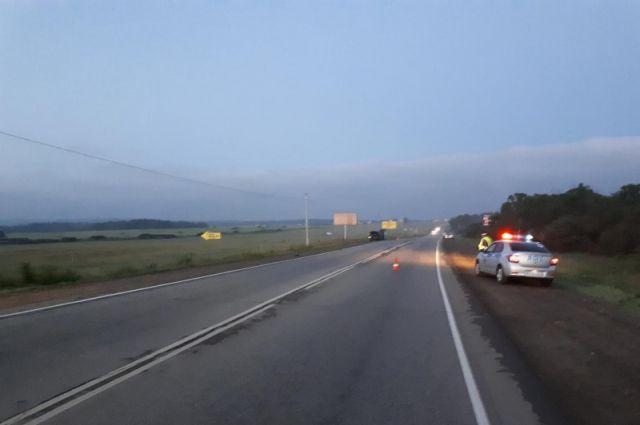 В Кваркенском районе в ночном ДТП погиб 37-летний водитель.
