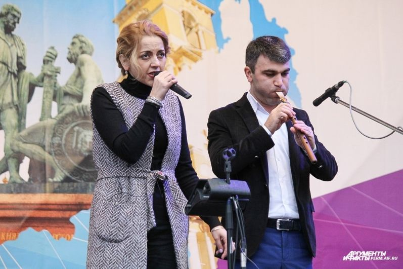 Группа «Айра» исполнила свои хиты для жителей города.