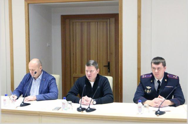 Власти города организовали оперативный штаб для решения экстренных задач.