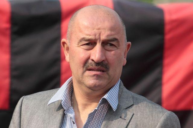 Стадион «Калининград» посетил главный тренер сборной Российской Федерации Черчесов