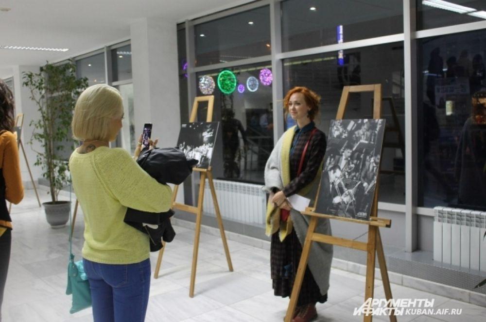 Фотовыставка в Музыкальном театре Краснодара.