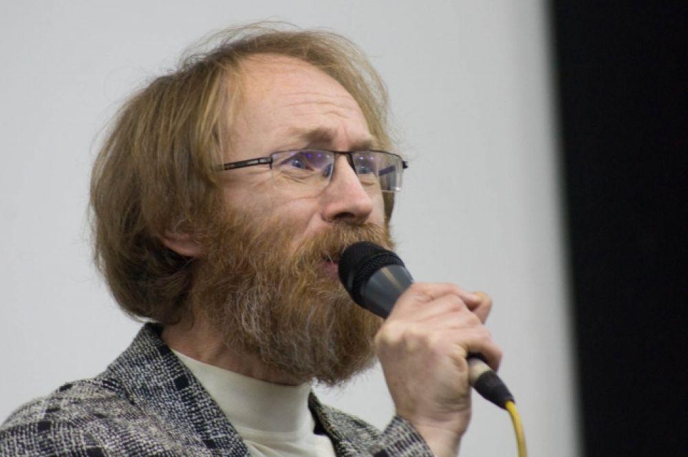 Александр Курбатов (Москва) - победитель финал всероссийского поэтического слэма.