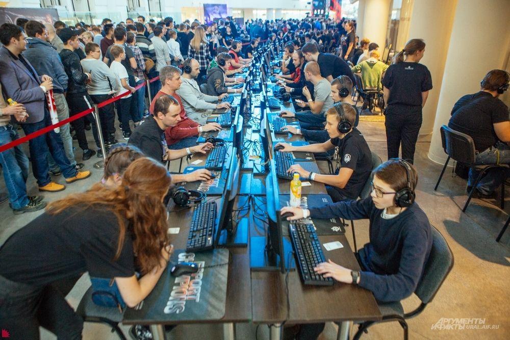 В Ельцин Центре оборудовали игровую зону «личного зачета» и дополнительно зону MSI.